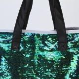 Buy Double Color Sequins Handbag Shoulder Bag Tote Ladies Purse Intl Happydealing