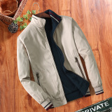Get The Best Price For Men S Leisure Stand Collar Cotton Long Sleeve Jacket Light Casual Light Casual