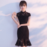 Modern Fashion New Style Summer Improved Dress Cheongsam Coupon Code