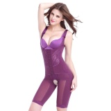 Price Dtx96 Woman Summer Shapewear Piece Seamless Abdomen Hip Slim Waist Corset Body Purple Intl Others China