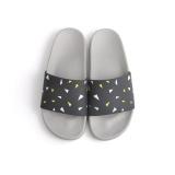 Buying Eachgo Women Men Comfortable Simple Slippers Couples Bedroom Indoor Outdoor Anti Skid Home Shoes Dark Grey Intl