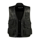 Review Egc Waterproof Casual Outdoor Camouflage Waistcoat Vest For Hunting Men S Photographer Sleeveless Jackets Black On China