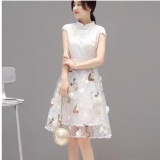 Store Elegant Women S Lace Organza Formal Ball Party Evening Dress Skirts Intl Oem On China