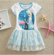 How Do I Get Elsa Of Frozen Dress 2 Years Blue