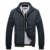 Where Can You Buy Encontrar New Men Solid Business Classic Bomber Jackets M 5Xl Black Intl