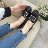 Price British Spring And Autumn New Style Thick With Shoes Black China