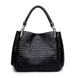 Get Cheap Etop Women Ladies Leather Handbag Bag Tote Shoulder Bags Black Intl