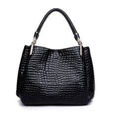 Discount Etop Women Ladies Leather Handbag Bag Tote Shoulder Bags Black Intl China