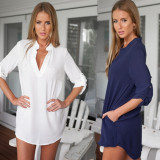 European And American Long Sleeved Shirt Coupon