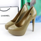 How To Buy European And American Leather Elegant Thin Heeled Women S Shoes Pumps