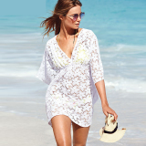 Buy European And American Elegant Lace Porous Beach Clothing Oem Cheap