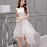 European Root Yarn Women Korean Organza Little Mermaid Wedding Bridesmaid Party Dress Intl For Sale