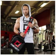 European Version Of Casual Men S Hoodies Sweatshirts Muscle Brothers Vest Cotton Sleeveless Training Fitness Pullovers Oem Discount