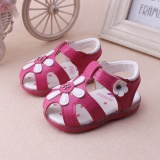 Best Rated Explosion Section 2017 Summer Children S Sandals Baby Little G*Rl Sandals Korean Version Of The Baby Shoes With Light Rose Intl