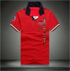 Purchase Men S European Style Extra Large Size Embroidery Polo Shirt Red Red