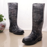 Factory Spring And Autumn Wear Bottom Fishing Slip Fashion Rubber Boots For Sale