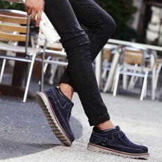 Buy Fahison Men Comfortable Hand Stitching High Top Suede Oxfords Ankle Boots Intl Online China