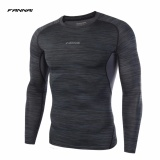 Buy Cheap Fannai Men S Sports Gym Base Layers Compression Tops Breathable Fabric Training Running Tee Long Sleeves O Neck Workout Tight T Shirts Intl