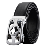 Buy Fashion Automatic Buckle Men S Belt Genuine Luxury Leather Belt High Quality Alloy Buckle Belts For Men Intl China