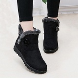 Sale Fashion Buckle Comfortable Keep Warm Soft Winter Ankle Snow Boots For Women Intl Not Specified Branded