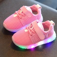 Fashion Children Shoes With Light Led Kids Shoes Luminous Glowing Sneakers Baby Toddler Boys Girls Intl Reviews