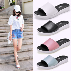 Price Fashion Female Wear Flat Cool Slippers New Slippers White White Oem Original