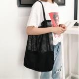Sale Fashion Girls Causal Shopping Handbag Shoulder Mesh Shopper Beach Bag Bk Intl Not Specified Branded