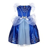 Fashion Girls Dresses Children S Party Halloween Dresses Kids Fairy Tale Drama Princess Dresses Age 2 10 Kids Cosplay Costume Clothes Blue Intl Best Price