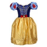 Fashion Girls Dresses Children S Party Halloween Dresses Kids Fairy Tale Drama Princess Dresses Age 2 10 Kids Cosplay Costume Clothes Yellow Intl For Sale Online