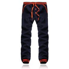 Buy Fashion Men Casual Plain Trousers Joggers Gym Tracksuit Bottoms Pants Export Online China