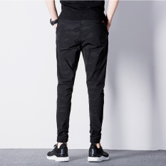 Fashion Men S Camo Army Color Casual Jogger Long Pants Dark Blue Cn858 Intl Price