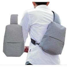 Price Compare Anti Theft Men S Cross Body Bag Chest Bag Grey Color