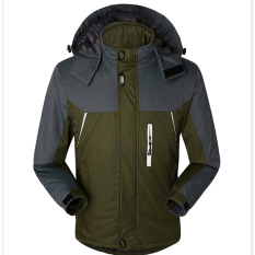 Fashion Mens Waterproof Windproof Outdoorwear Mountain Snow Jacket Army Green Intl On Line