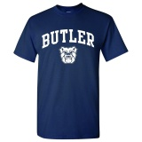 Brand New Fashion Ncaa Arch Logo Cotton O Neck Short Sleeve T Shirt In Men Dark Blue Intl