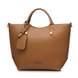 Where To Shop For Fashion Pu Leather Tote Bag Vintage Women Shoulder Bag Khaki Intl