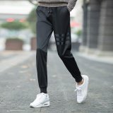 Discounted Fashion Stripe Breathable Sports Casual Basketball Football Trainning Trousers Pants Intl