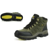 Buy Fashion Unisex Hiking Shoes High Top Waterproof Warm Boots Color Gray Blue Intl Online