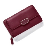 Price Comparison For Fashion Women Clutch Pu Leather Shoulder Solid Ladies Bags Chain Bag (Red Intl