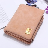 Retail Fashion Women Purse Leather Lady Handbag Wallet Button Clutch Card Case Coin Bag Pink Intl