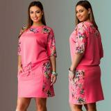 Shop For Fashion Women S*xy Summer Maxi Chiffon Long Sleeve O Neck Vintage Dress Floral Printed Casual Lace Mini Loose Party Cotton Dresses Intl