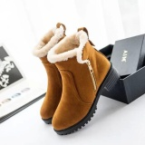 Best Rated Fashion Women Winter Snow Boot Keep Warm Comfortable Outdoor Casual Ankle Short Boots Intl
