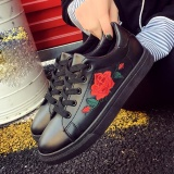 Buy Fashion Women S Straps Sports Running Sneakers Embroidery Flower Shoes Bk 36 Intl Online
