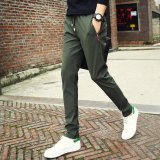 Compare Price Fashional Men S Sport Pant Quick Dry Outdoor Slacks Elastic Waist Youth Trunks Leisure Trousers Loose Fitting Running Pants Intl Oem On China
