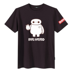 Best Rated Fat Brother Teenager Short Sleeve Plus Sized Fat People Cartoon T Shirt Large White Maroon
