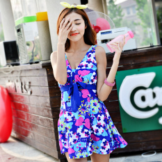 Latest Fat Mm Female Swimsuit Big Chest Was Thin Boxer Skirt Piece Cover The Belly Plus Fertilizer Large Size Swimming Clothes Hot Spring Swimsuit Conservative Butterfly