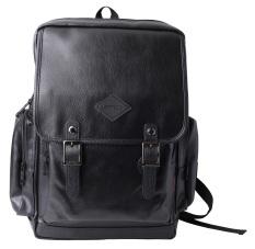 42ac45b9da80 Faux Leather Vintage Backpacks Bags (Black) - Intl