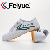 The Cheapest Feiyue Men And Women Sports Casual Canvas Shoes Classic White And Green Online