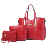 Retail Price Fashion Spring Summer New Style Women S Large Bag Women S Bag Wine Red Color
