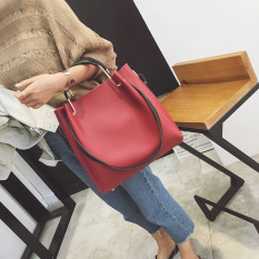 Best Reviews Of Korean Version Of The New Tote Bags Shoes Red