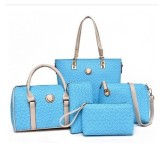 Summer Bags For Women Ladies Bag Sky Blue Color Sky Blue Color Coupon Code